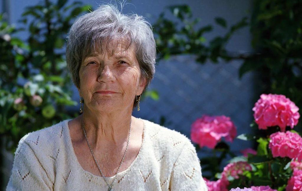 elderly, garden, horticultural therapy
