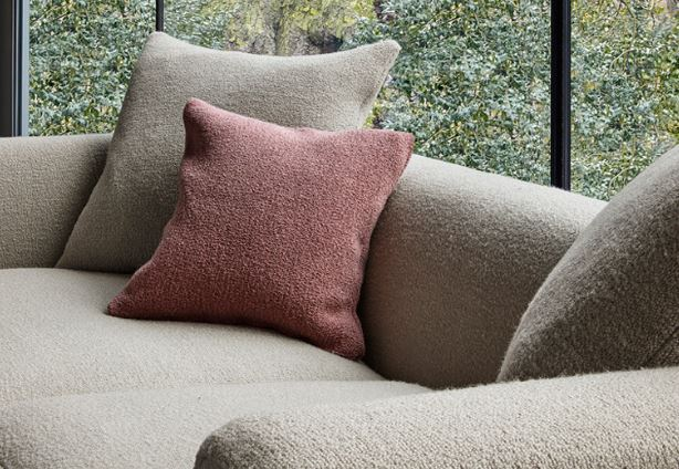 boucle sofa
